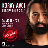 Koray Avcı – 'European Tour 2020' | Stockholm